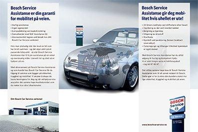 Se mer informasjon om Bosch Service Assistanse her!